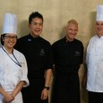 The Chef in Black,Emmanuel Stroobant, visits L'Rez, as part of its Celebrity Chef Series.